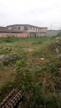 a Strategic Located and Standard One Plot of Bare Land Well Fenced Round with Gate, Level Dried Land, in a Serene and Beautiful Area at Around Mojisola Area, Off College Road, Ogba, Ikeja, Lagos, Residential Land for Sale