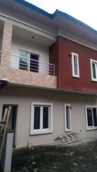 Well Built and Secured 5 Bedroom Semi Detach +1 Bq in a Mini Estate, Ikate Elegushi, Lekki, Lagos, Semi-detached Duplex for Sale