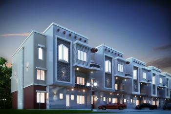 6 Bedroom Terrace Duplex with Bq, Wuye, Abuja, Terraced Duplex for Sale