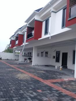 Newly Built 4 Bedroom Terrace Duplex, Lekki Conservation Rd By Chevron Toll Gate, Lafiaji, Lekki, Lagos, Terraced Duplex for Sale