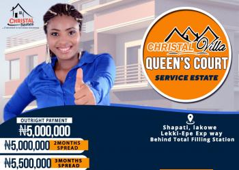 Christal Villa Queens Courts, Shapati, Lakowe Lekki-epe, Express Way, Epe, Lagos, Residential Land for Sale