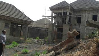 Duplex Uncompleted Going for an Affordable Price in The Choicest Area in Town, Asaba, Delta, Terraced Duplex for Sale