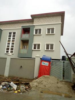 Newly Built 3 Bedroom Wing of Duplex on 3 Floors with a Room Bq,  2 Living Rooms. Commercial Or Resident, Off Olufemi Street, Ogunlana, Surulere, Lagos, Semi-detached Duplex for Rent