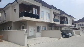 Very Spacious, Brand New and Uniquely Finished 4 Bedroom Semi-detached House with Boys Quarters, Bricks Court Estate, Lafiaji, Lekki, Lagos, Semi-detached Duplex for Sale