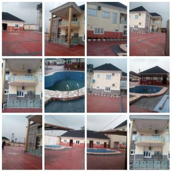 4 Bedroom Duplex with 5 Rooms Bq with Swimming Pool and All The Properties Inside, Naf Base Harmony Estate, Obio-akpor, Rivers, Semi-detached Duplex for Sale