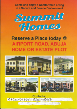 Estate Land, Pyakasa, Lugbe District, Abuja, Residential Land for Sale