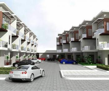 Luxury Style 5 Bedroom Terrace Duplex, Guzape District, Abuja, Terraced Duplex for Sale