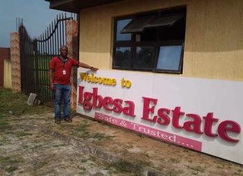 Maryland Garden Estate, Along Agbara/igbesa Road, Agbara, Ogun, Residential Land for Sale