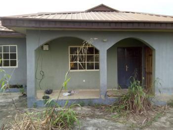 2 Bedroom Bungalow on a Plot, Aso  Rock Estate, After That Long Bridge, Ibafo, Ogun, Detached Bungalow for Sale