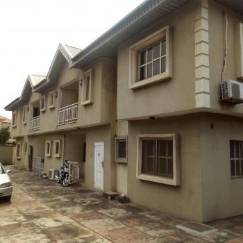 Block of 4 3 Bedroom Flats Plus 3 Bedroom Bungalow Set Back, Maplewood Estate, Oko-oba, Agege, Lagos, Block of Flats for Sale