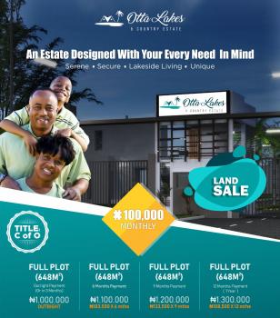 Land, Otta Lakes & Country Estate, Sango Ota, Ogun, Residential Land for Sale