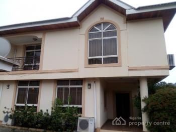 Luxury Serviced 4bedroom Semi Detached Duplex with 2rooms Maids Quarter, Ac,gen..lush Green Areas, Maitama, Maitama District, Abuja, House for Rent