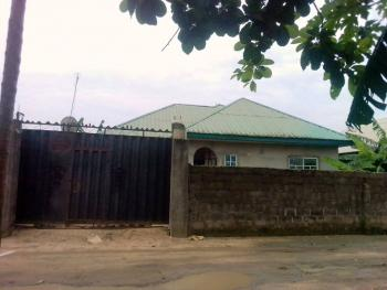 3 Bedroom Bungalow on 1 Plot, Rumuduru, Rumuodara, Port Harcourt, Rivers, Detached Bungalow for Sale