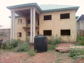 Massive 6-bedroom Fully Detached Duplex Carcass, Premier Layout, New Artizan, Enugu, Enugu, Detached Duplex for Sale