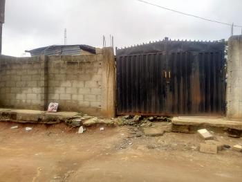 Bungalow on Half Plot of Land in a Very Decent Area, Ekoro, Abule Egba, Agege, Lagos, Detached Bungalow for Sale