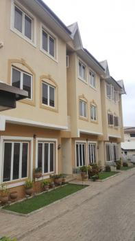 Lovely and Spacious Serviced 4 Bedroom Terraced Duplex with a Room Bq, Fitted Kitchen, Air-condition Installed, Off Aminu Kano Crescent, Wuse 2, Abuja, Terraced Duplex for Rent