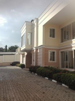 Fully Serviced Luxury 4 Bedroom Semi Detached Duplex with a Room Bq, Off Panama Street, Maitama District, Abuja, Semi-detached Duplex for Rent