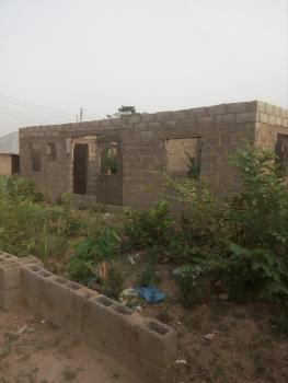 3 Bedroom Bungalow Uncompleted, Pascelli Kabusa, Dakwo, Abuja, Detached Bungalow for Sale