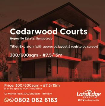 Plots of Buy and Build Land for Sale in Sangotedo, Ajah Cedarwood Courts. Residential Estate, Sangotedo, Ajah, Lagos, Residential Land for Sale