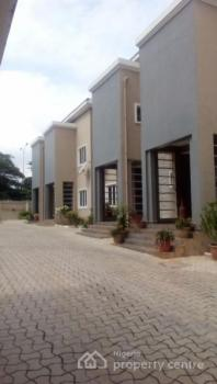 Diplomatic and Luxury Serviced 4 Units of 3 Bedroom Terrace Duplex with a Bq, Furnished Kitchen with Storage, Garden, Utako, Abuja, House for Rent