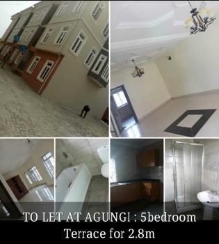 5 Bedroom Terrace Apartment, Agungi, Lekki, Lagos, Terraced Duplex for Rent
