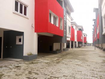 Newly Built 20 Units of 4 Bedroom Serviced Terraced Duplexes with a Room Bq, Fitted Kitchen, Etc, Ikate Elegushi, Lekki, Lagos, Terraced Duplex for Sale