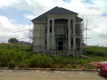 5 Bedroom Detached Duplex + 2 Rooms Bq (carcass), River Park Estate, Lugbe District, Abuja, Detached Duplex for Sale
