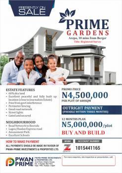 Pwan Prime Land, Prime Gardens, Eleko, Ibeju Lekki, Lagos, Residential Land for Sale