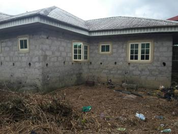 Three Bedroom Bungalow(uncompleted), Off Refinery Road, Opposite Naval Base, Effurun, Uvwie, Delta, Detached Bungalow for Sale