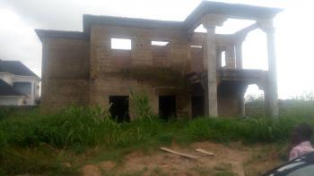 Carcass 4 Bedroom Uncompleted Duplex, Suparcell, Lokogoma District, Abuja, Detached Duplex for Sale