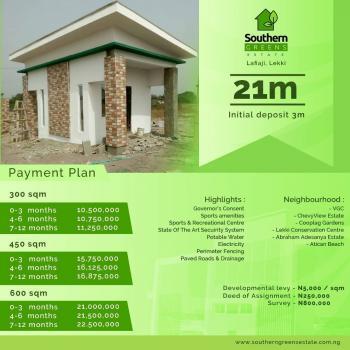 Plots of Lands, Southern Greens Estate, Shortly After The 2nd Lekki Toll Gate, Lafiaji, Lekki, Lagos, Residential Land for Sale