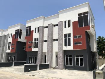 Brand New Luxury 4 Bedroom Terraced Duplex with En Suite Bq , 24 Hours Power Supply, Osapa, Lekki, Lagos, Terraced Duplex for Rent
