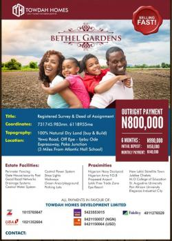 Land for Sale in Epe, Epe, Lagos, Residential Land for Sale