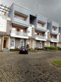 4 Bedrooms Serviced Terraced Duplex with a Room Bq, 24/7 Power Supply, Off Ibb Boulevard, Maitama District, Abuja, Terraced Duplex for Rent