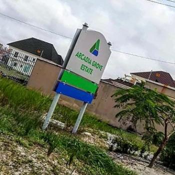 Serviced Plot of Land, Arcadia Grove Estate, Near Pinnock Beach Estate, Osapa, Lekki, Lagos, Residential Land for Sale