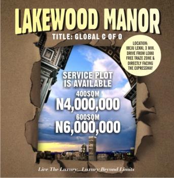 Lands, Lakewood Manor Estate, Eleko, Ibeju Lekki, Lagos, Mixed-use Land for Sale