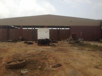 5.234 Acres of Land with a Massive Warehouse, Along Epe Expressway, Before Epe Bridge, Ibeju Lekki, Lagos, Warehouse for Sale