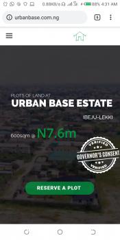 Urban Base Estate, Ibeju Lekki, Lagos, Residential Land for Sale