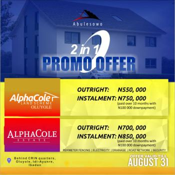 Plots of Land, Idi Ayunre, Oluyole, Oyo, Residential Land Joint Venture