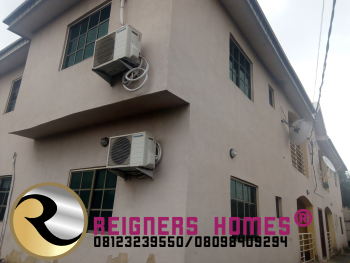 Luxury 3 Bedroom Flat, a Stone Throw From Owode Bus Stop, Ado, Ajah, Lagos, Flat for Rent