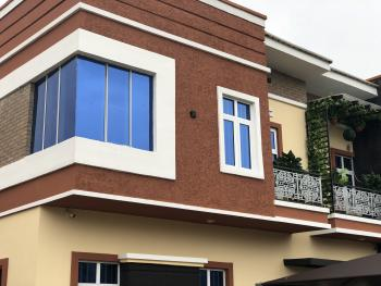 Luxury 4 Bedroom Terraced Duplex with Bq , Serviced with 18 Hours Alternative Power Supply, on Orchid Hotel Road, Lafiaji, Lekki, Lagos, Terraced Duplex for Rent