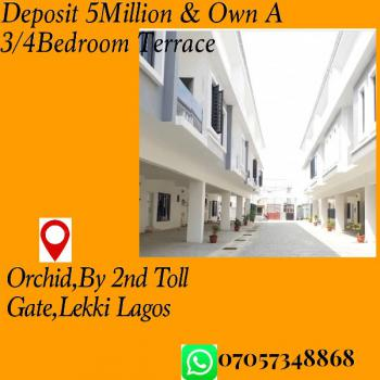 Governors Consent, Orchid Hotel Road, Opposite Chevron, Lekki, Lagos, Terraced Duplex for Sale