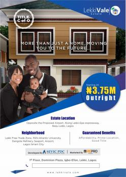 Lekkivale Estate, Ibeju Lekki, Lagos, Residential Land for Sale