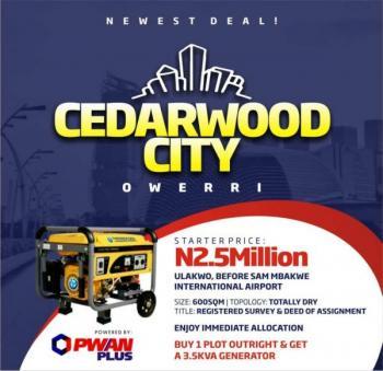 Residential Land, Nekede, Owerri, Imo, Residential Land for Sale