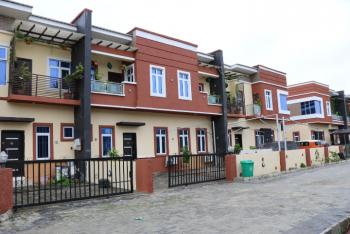 Well Located and Luxuriously Finished 4 Bedroom Terrace House with Boys Quarter, Buena Vista Estate, Lafiaji, Lekki, Lagos, Terraced Duplex for Rent