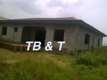 3 Bedroom Bungalow (uncompleted But Roofed), Ctcs National Orthopaedic Hospital Estate, Along Agbede Alaragbo Road, Agbede, Ogijo, Sagamu, Ogun, Detached Bungalow for Sale