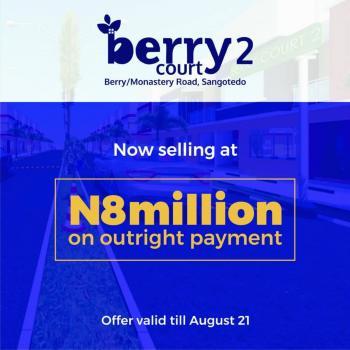 Berry Court Estate, Off Monastery Road, Sangotedo, Ajah, Lagos, Mixed-use Land for Sale