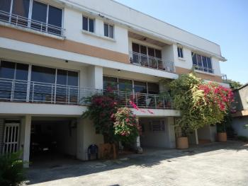 3 Bedroom Serviced Terrace Duplex, Off Awolowo Road, Falomo, Ikoyi, Lagos, Terraced Duplex for Rent