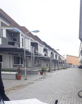 Serviced 3 Bedroom Terraces, 5 Mins Drive From Chevron and Conservation Center, Lafiaji, Lekki, Lagos, Terraced Duplex for Sale