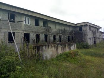 90% Finished Warehouse on 1371sqms with Land Size of 2400sqms, Lakowe, Ibeju Lekki, Lagos, Warehouse for Sale